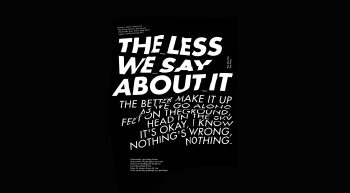 The Less We Say