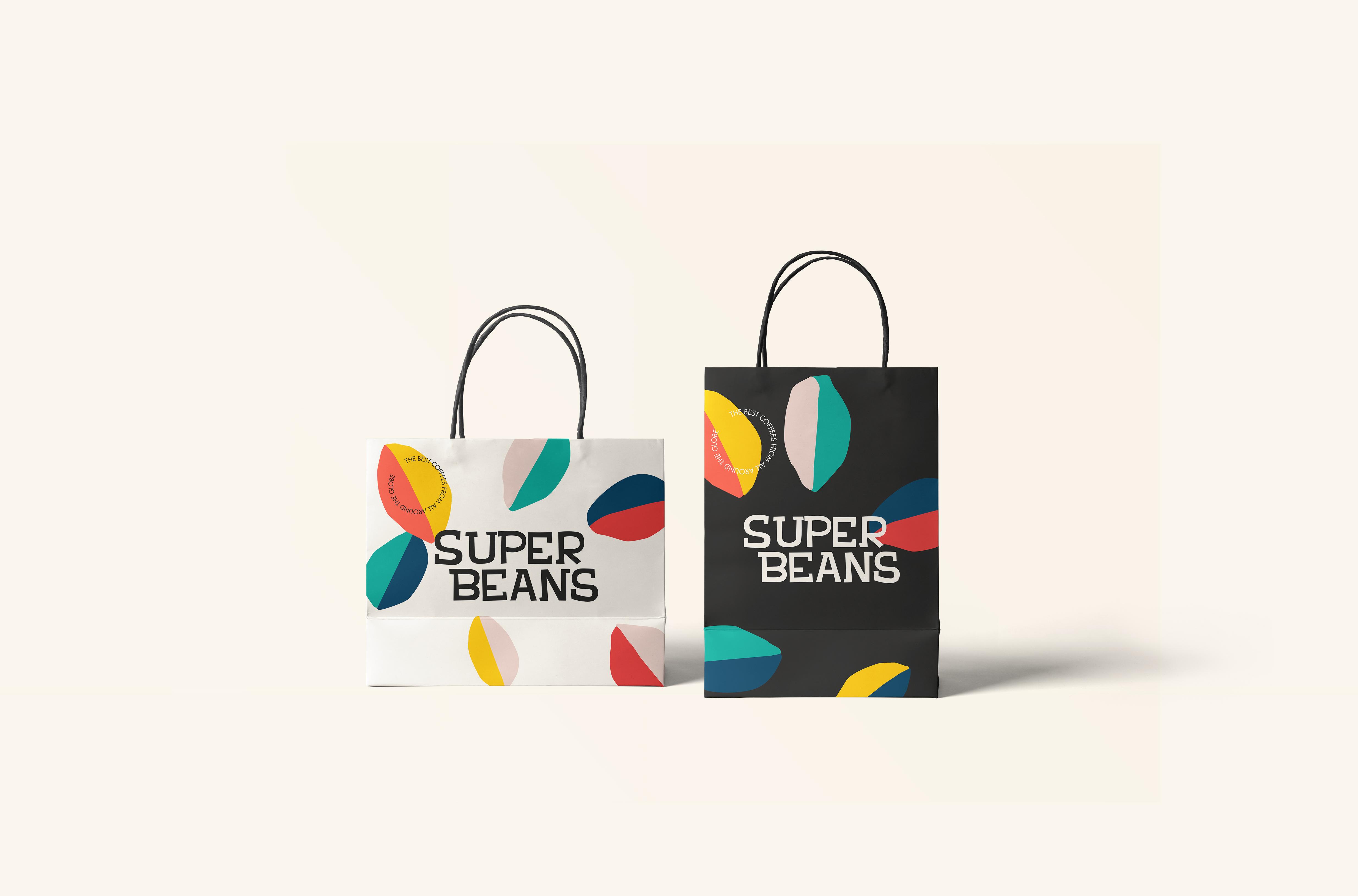 22_Paper Shopping Bags Mockup